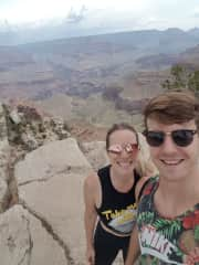 Incredible time bike riding at the Grand Canyon