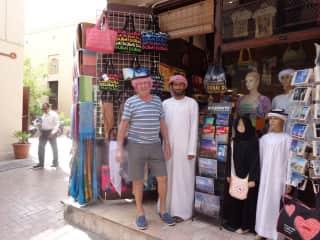 Barry bargaining in Dubai