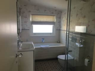 House sitter's private bathroom