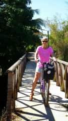 I enjoy cycling and mountain biking