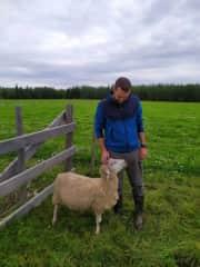 Ronan at the ranch