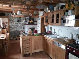 Our beautiful cosy kitchen