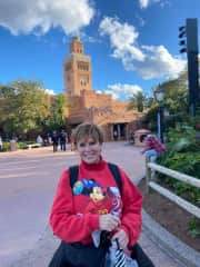 traveling through EPCOT since int'l travel is shut down!