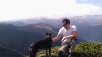 Trekking with Daisy in Luchon