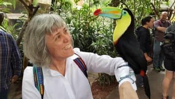 At La Paz animal sanctuary in Costa Rica