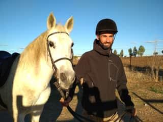 Riding a friend´s horse