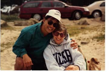 Ron and Sandy in our younger days