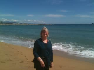 At the Mediterranean Sea, 2014