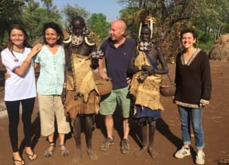 The family in Ethiopia