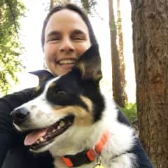 Me and Lexi hiking in Oregon