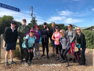 Hiking on the a Great Ocean Road