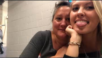My daughter Hope and me, Donna. This is in Nashville celebrating my daughters 21st birthday.