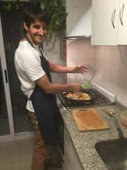 Tomi is a great cook :)