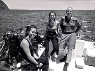 Diving w/friends :)