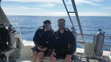 scuba diving in the caribbean!