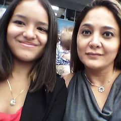 Nicole and I, at my niece's graduation.