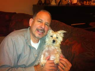 Robert and his baby girl.