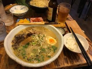 Authentic Japanese ramen