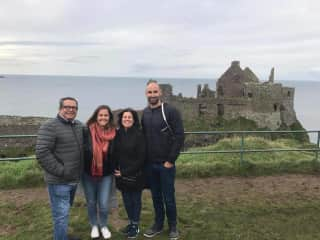Our daughter and son in law during our trip to Ireland