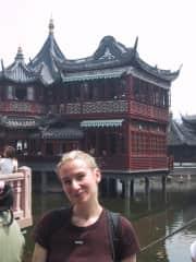 Karin in Shanghai