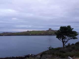 Dalkey island,  nearby