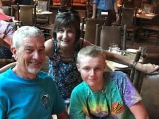 Robert, Rebecca, and Zach