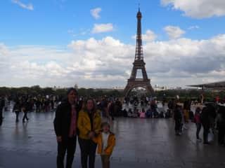 Gianni, Dawn and Aiden in Paris