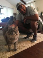 Derek and Gandalf the grey massive