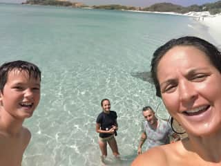 family time from Australia travels to Great Keppel Island