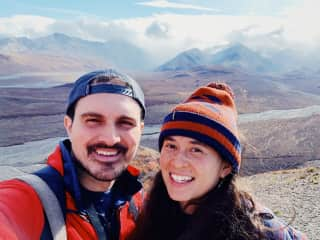 We have been traveling all over the country, this is from Denali National Park in Alaska