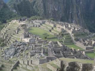 We like culture. (Machu Picchu)