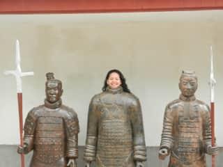 """Xi""""an terracotta Warriors"""