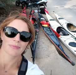 Passionate about canoeing!