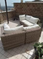 comfortable terrace.