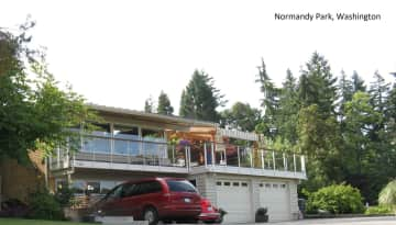 Front of our Seattle area home.