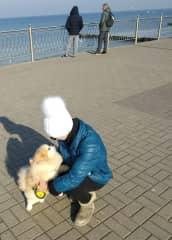 Walking local cutie!