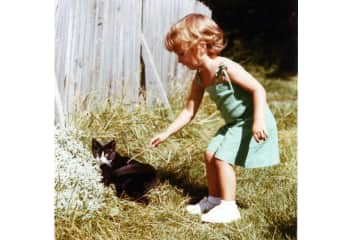 Historic first contact with a cat :)