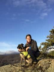 Hiking with Hazel