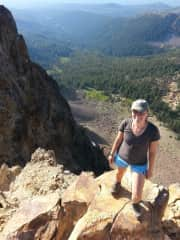 Hiking Brokeoff Mountain, California, USA