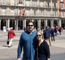 Geri and Tom in Madrid