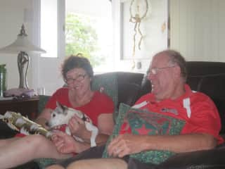 Us, Cody, Quilts and Christmas