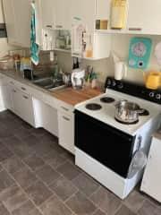 Cute retro kitchen