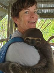 Who wouldn't want a slothie hug!?!
