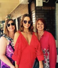 My friend Karen, her daughter Regan and I (left to right)