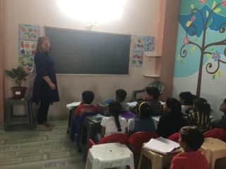 Teaching English in the Delhi slums
