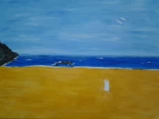 I enjoy painting.......