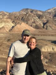 Anne and Tom in Death Valley...