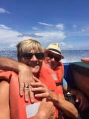 On our way to Little Corn Island