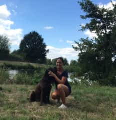 Nele, my cousin`s dog:  external reference by Nadine