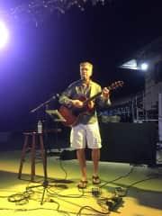 David performing!